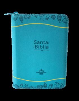 Biblia Color Azul - Amarillo - Reina Valera 1960
