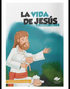 CARTILLA LA VIDA DE JESÚS SUS ENSEÑANZAS PARTE 3