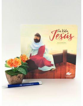 LIBRO LA VIDA DE JESUS ILUSTRADA