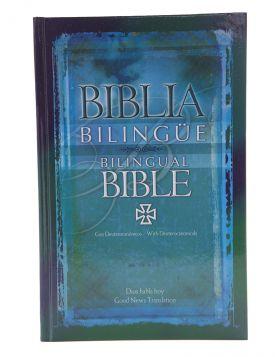 Biblia Dios Habla Hoy Bilingüe con deuterocanónicos  Español - Inglés