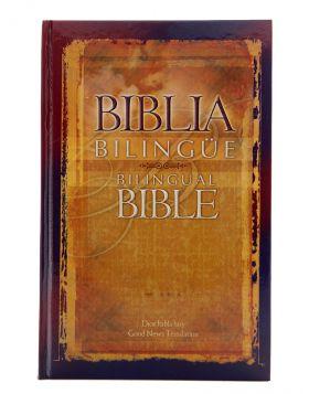 Biblia Dios habla hoy bilingüe Español - Inglés