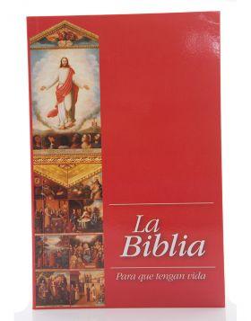 Biblia Dios habla hoy con orden alejandrino - roja