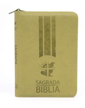 Biblia Dios Habla Hoy línea colores mediana - verde olivo
