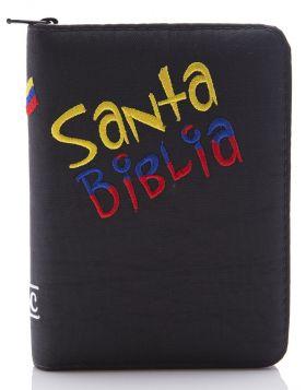 Biblia edición colombiananita - azul oscura