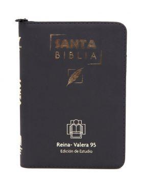 Biblia grande de estudio Reina Valera 95 - negra