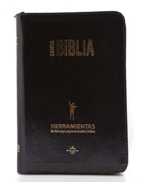 Biblia grande tipo agenda temática - herramientas para líderes