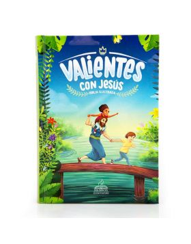 Biblia Valientes con Jesús - Tapa dura DHH