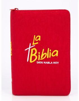 Biblia Dios Habla Hoy - Bordado Rojo