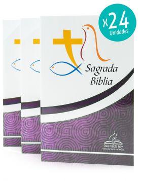 Caja de 24 Biblias línea economica (misionera) - Dios Habla Hoy