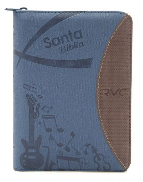 Biblia Reina Valera contemporánea - azul