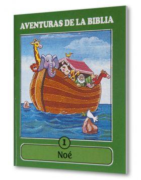 (24u) CartillaMini Aventuras 01 Noe Colección