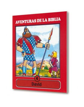 (25u) Cartilla Mini Aventuras 04 David Colección
