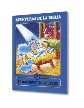 Cartilla Mini Aventuras 07 Nacimiento Jesús. Coleccion
