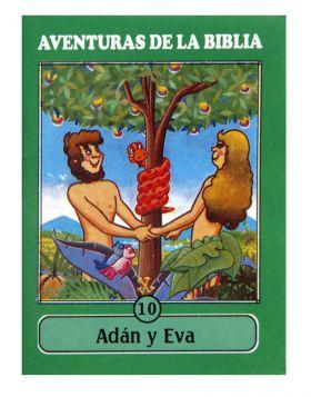 CartillaMini Aventuras 10 Adan y Eva Colección