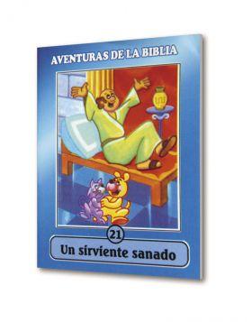 (24u) CartillaMini Aventuras 21 Sirviente Sanado. Colección
