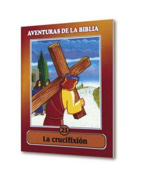 (24u) CartillaMini Aventuras 23 La Crucifixión Colección