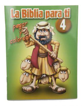 Cartilla - La Biblia para ti No 4