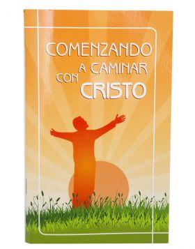 Comenzando a caminar con Cristo - Tapa rustica