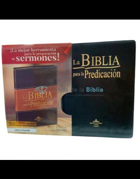 Biblia para la predicación - Reina Valera 1960 - Color Negro