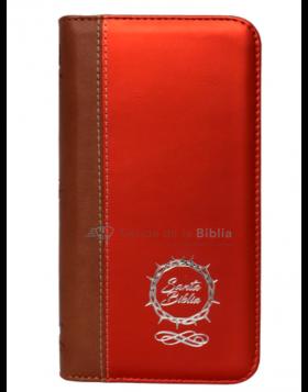 Biblia Reina Valera 1960 - Color Café/Naranja - Ayudas Digitales