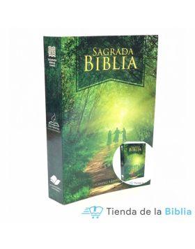 Caja de 24 Biblias línea economica - CAMINO A EMAÚS (misionera)
