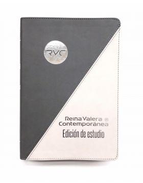 BIBLIA DE ESTUDIO  - GRIS NEGRO