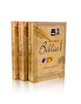 Serie completa Descubre la Biblia I, II, III